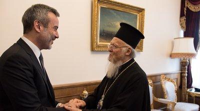 Κωνσταντινούπολη: Συναντήσεις του δημάρχου Θεσσαλονίκης Κ. Ζέρβα με Πατριάρχη Βαρθολομαίο και Εκρ. Ιμάμογλου