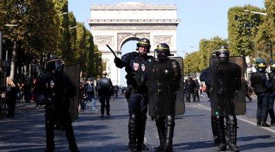 Γαλλία: Τριάντα συλλήψεις κατά τη διάρκεια κινητοποίησης των «κίτρινων γιλέκων»