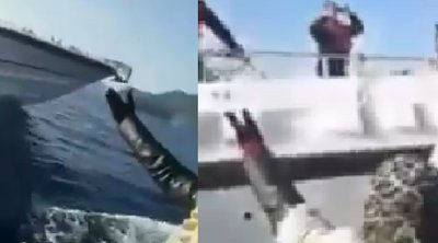 Βίντεο-σοκ από το Αιγαίο: Το Τουρκικό Λιμενικό προσπαθεί να βουλιάξει λέμβο με πρόσφυγες!