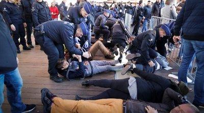 Βέλγιο: Συνελήφθησαν περισσότεροι από 100 ακτιβιστές