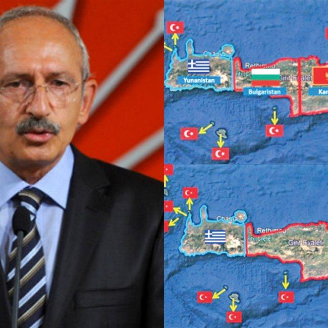 Σε παράκρουση ο Κιλιτσντάρογλου - Πιέζει τον Ερντογάν να διεκδικήσει και την Κρήτη!
