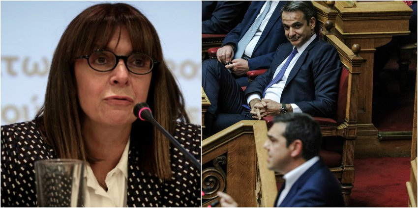 Στις 10:30 στη Βουλή η εκλογή της Αικατερίνης Σακελλαροπούλου νέας Προέδρου της Δημοκρατίας με τις ψήφους ΝΔ, ΣΥΡΙΖΑ και ΚΙΝΑΛ