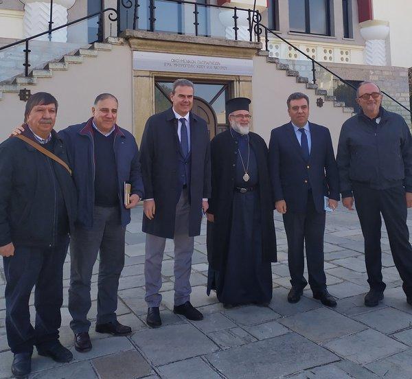 Συνάντηση Κόνσολα με το Μητροπολίτη Κω και Νισύρου για την ανάδειξη του θρησκευτικού τουρισμού