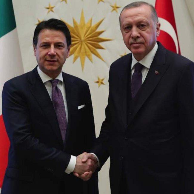«Βόμβα» Ερντογάν: Είμαστε σε συζητήσεις με την Ιταλία για γεωτρήσεις στη Μεσόγειο