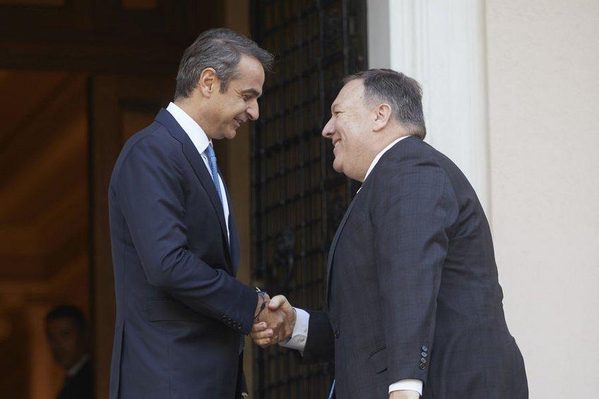 Επιστολή Πομπέο σε Μητσοτάκη: Στηρίζουμε την ασφάλεια της Ελλάδας - «Δεν αποτελεί λόγο για πανηγυρισμούς», λέει η αντιπολίτευση