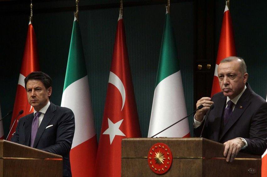Μεγαλοπρεπές «άδειασμα» του Ερντογάν από την Ιταλία: Δεν ισχύουν οι φήμες για συνεργασία μας στη Μεσόγειο