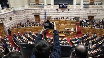 Τριήμερη συζήτηση από αύριο για την πρόταση μομφής κατά Σταϊκούρα - Οι αντιδράσεις των κομμάτων