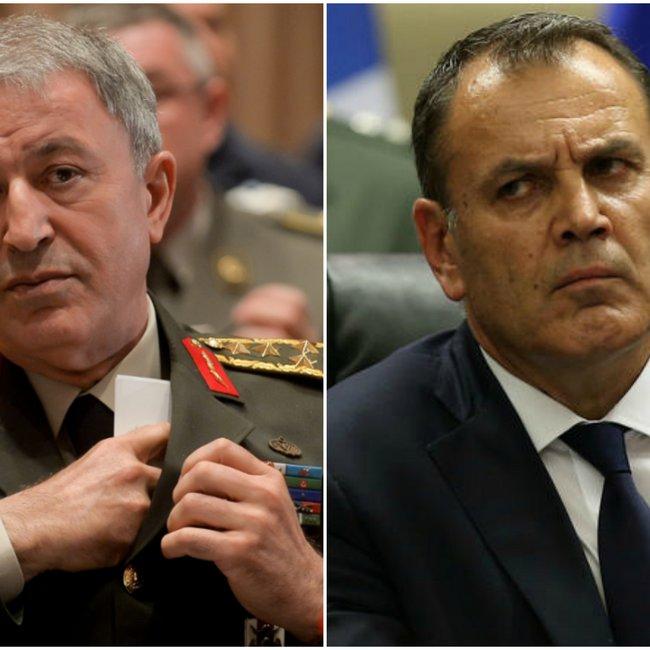 Παναγιωτόπουλος προς Ακάρ για τον στρατό στα νησιά: «Ό,τι απειλείται δεν αποστρατικοποιείται»!