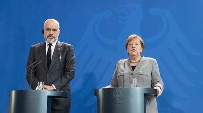 Μέρκελ: Θέλουμε συμφωνία για έναρξη ενταξιακών διαπραγματεύσεων με την Αλβανία και τη Β. Μακεδονία στο προσεχές Ευρωπαϊκό Συμβούλιο