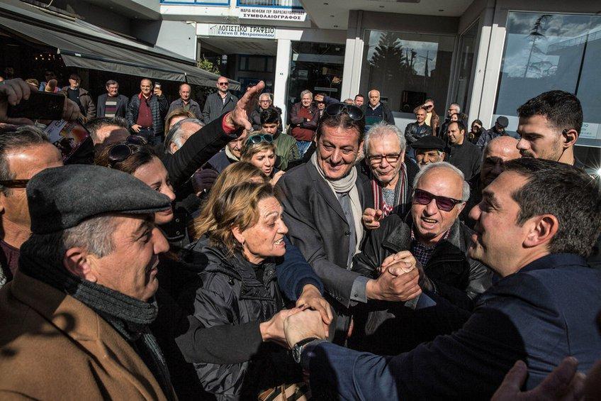 Τσίπρας: «Το έργο Πατρών–Πύργου θα πάει στις καλένδες»-Συνάντηση με το δήμαρχο Κυλλήνης