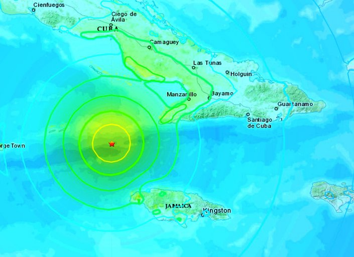 Σεισμός-«μαμούθ» 7,7 Ρίχτερ χτύπησε την Καραϊβική - Προειδοποίηση για τσουνάμι σε Κούβα, Τζαμάικα, Φλόριντα και Νησιά Κέιμαν