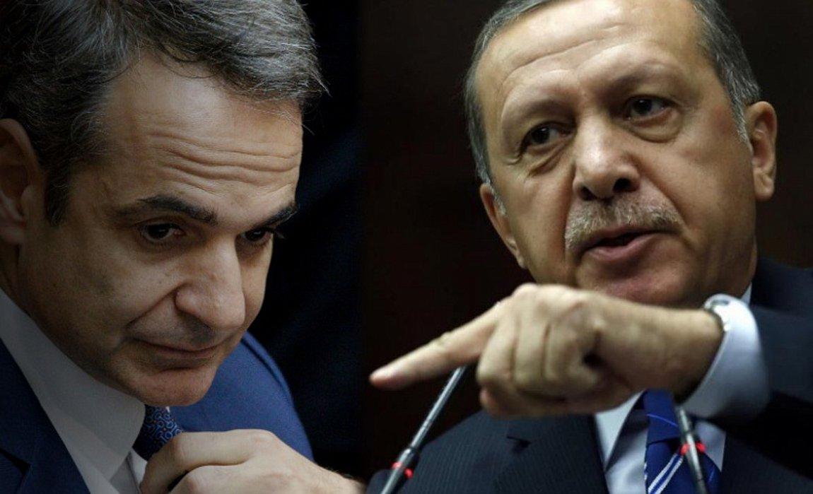 Ερντογάν απειλεί Μητσοτάκη: Μην ασχολείστε μαζί μας, για να μη σας συμβεί το παραμικρό
