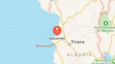 Σεισμός 5,4 Ρίχτερ κοντά στο Δυρράχιο της Αλβανίας
