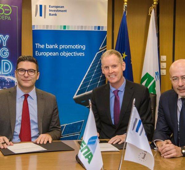 Συμφωνία ΔΕΠΑ - ΕΤΕπ για χρηματοδότηση κατασκευής του πρώτου πλοίου LNG στον Πειραιά