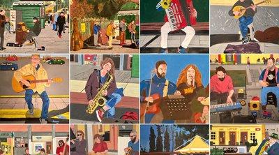 Έκθεση Ζωγραφικής Αλέξανδρου Αθανασίου - «Παράλληλοι κόσμοι: Θεσσαλονίκη-Παρίσι via Ρώμη»