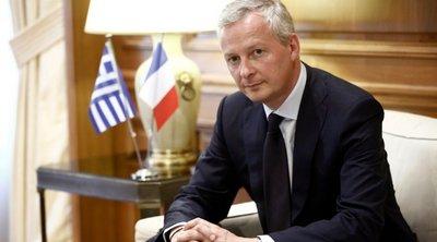 Ο Λεμέρ καλεί τις γαλλικές επιχειρήσεις να επενδύσουν στην Ελλάδα
