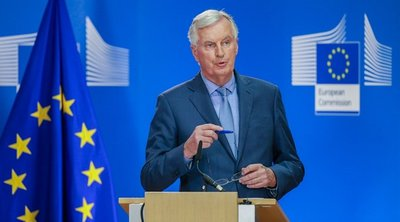 Μπαρνιέ: Η συμφωνία ΕΕ-Ουκρανίας ως βάση για τη νέα σχέση με τη Βρετανία