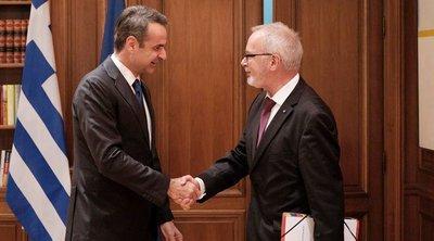 Μητσοτάκης: Έχουμε φιλόδοξα σχέδια για το 2020 - Προσβλέπουμε στη στήριξη της Ευρωπαϊκής Τράπεζας Επενδύσεων