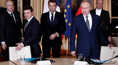 Συνομιλία Πούτιν-Ζελενσκι για την επόμενη συνάντηση στο πλαίσιο του «σχήματος της Νορμανδίας» και την απελευθέρωση κρατουμένων