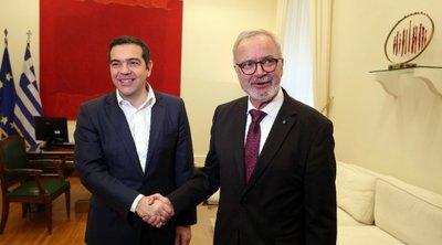 Με τον Β. Χόγιερ συναντήθηκε ο Αλ. Τσίπρας