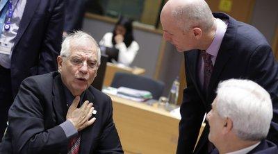 Συνεδριάζουν οι ΥΠΕΞ της ΕΕ - Τι δήλωσε ο Ζοζέπ Μπορέλ