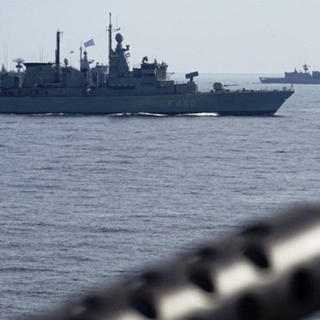 Μήνυμα ισχύος από το Πολεμικό Ναυτικό: Ο ελληνικός στόλος βγήκε στο Αιγαίο και στην ανατολική Μεσόγειο