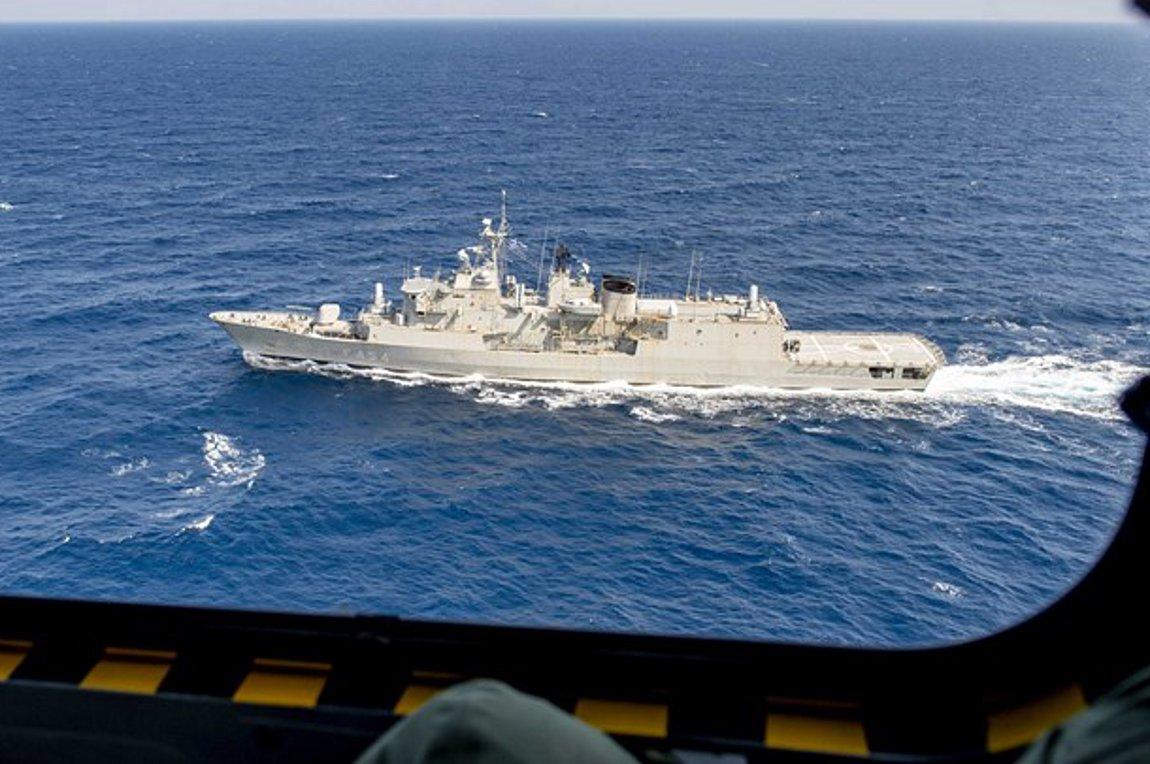 Ισχυρό μήνυμα Ελλάδας-Γαλλίας στην Ανατ. Μεσόγειο - Charles de Gaulle και Φρεγάτα «Ψαρά» πλέουν μαζί