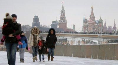 Μόσχα: Ο φετινός χειμώνας αναμένεται να είναι ο πιο θερμός στην ιστορία των τελευταίων 140 χρόνων