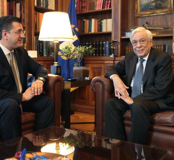 Τον ρόλο του Προέδρου της Δημοκρατίας το 2015 για την παραμονή της Ελλάδας στον ευρωπαϊκό της δρόμο εξήρε ο περιφερειάρχης Κ. Μακεδονίας