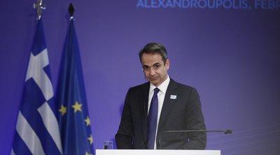 Μητσοτάκης: Δεν θα ανεχθούμε παράνομες εισόδους στην Ελλάδα - Αυξάνουμε την ασφάλεια στα σύνορα
