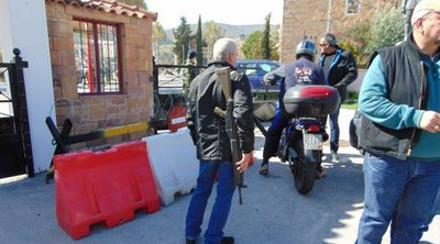 Εθνοφύλακες στη Χίο απειλούν να παραδώσουν τα όπλα τους σε ένδειξη διαμαρτυρίας για τα σχέδια της κυβέρνησης