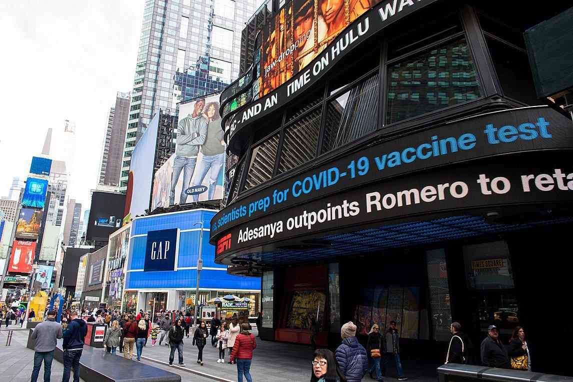 ΗΠΑ: Στους 728 οι νεκροί στη Νέα Υόρκη - Αναβάλλονται για τον Ιούνιο οι προκριματικές εκλογές των κομμάτων