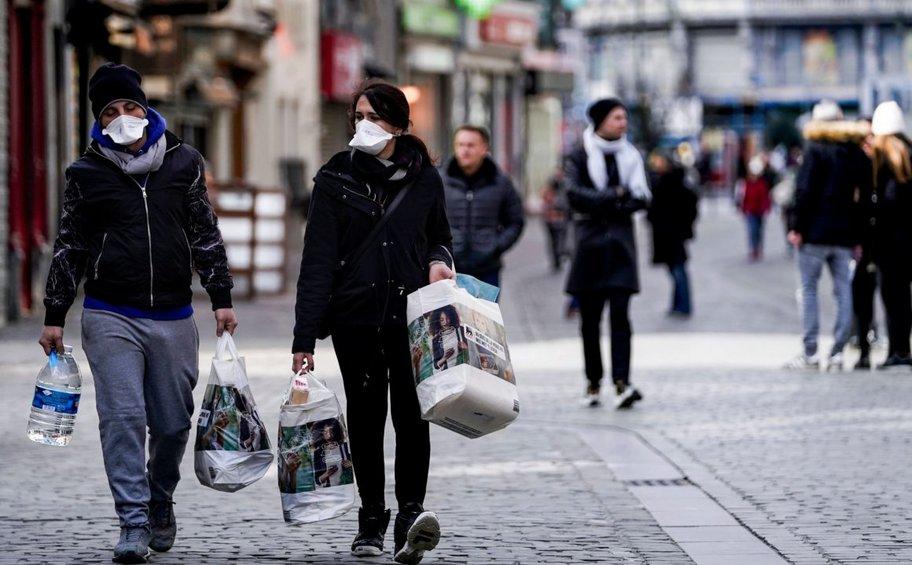 165 νέα κρούσματα κορωνοϊού και 15 θάνατοι στο Βέλγιο τις τελευταίες 24 ώρες