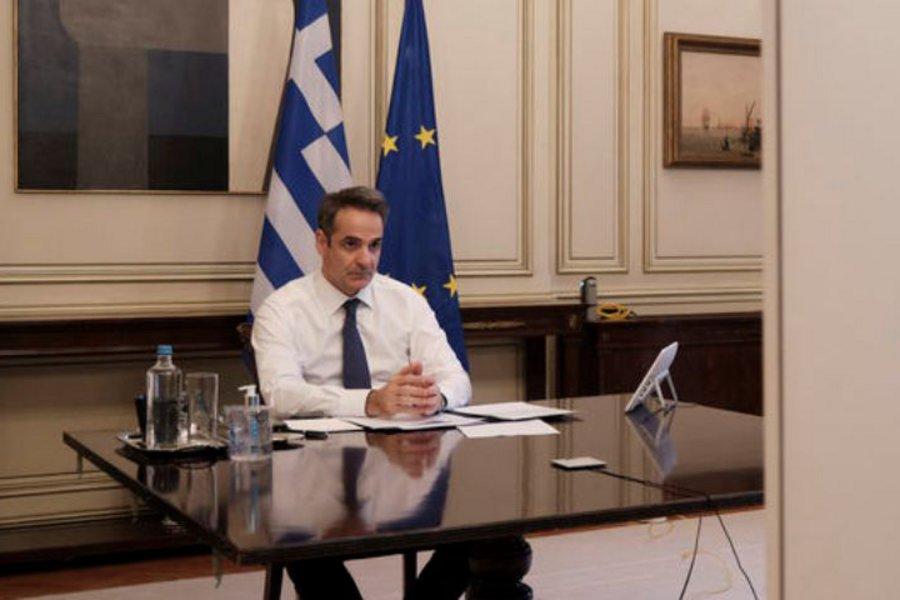 Μητσοτάκης στο CNN: Η ελληνική κοινωνία επέδειξε μεγάλη αλληλεγγύη - Πήραμε γρήγορα και αυστηρά μέτρα για τον κορωνοϊό - ΒΙΝΤΕΟ