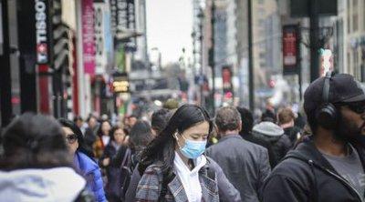 Η Νέα Υόρκη θα επιβάλλει πρόστιμα σε όσους δεν φορούν μάσκα, καθώς αυξάνονται τα κρούσματα στην πόλη
