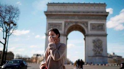 Γαλλία: 1.695 νέα κρούσματα κορωνοϊού, ο υψηλότερος αριθμός εδώ και 2 μήνες