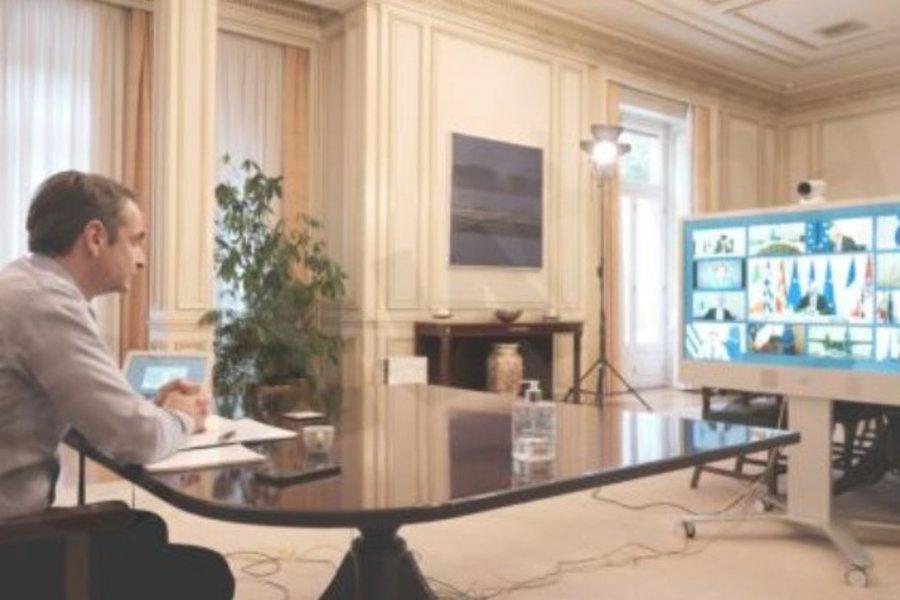 Σύνοδος Κορυφής: Ο Μητσοτάκης επέμεινε στην πρόταση των «9» για έκδοση κορωνο-ομολόγου