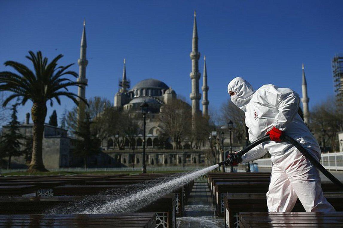 Τουρκία: Στους 108 οι νεκροί από τον κορωνοϊό, 7.402 τα επιβεβαιωμένα κρούσματα