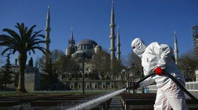 Κορωνοϊός: 501 νεκρούς μετρά η Τουρκία - Στα 23.934 τα επιβεβαιωμένα κρούσματα