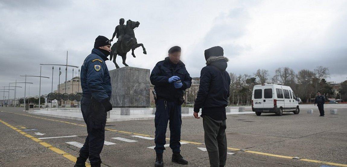 Θεσσαλονίκη: Αστυνομικοί έλεγχοι σε ουρές τραπεζών - 268 παραβάσεις το τελευταίο 24ωρο