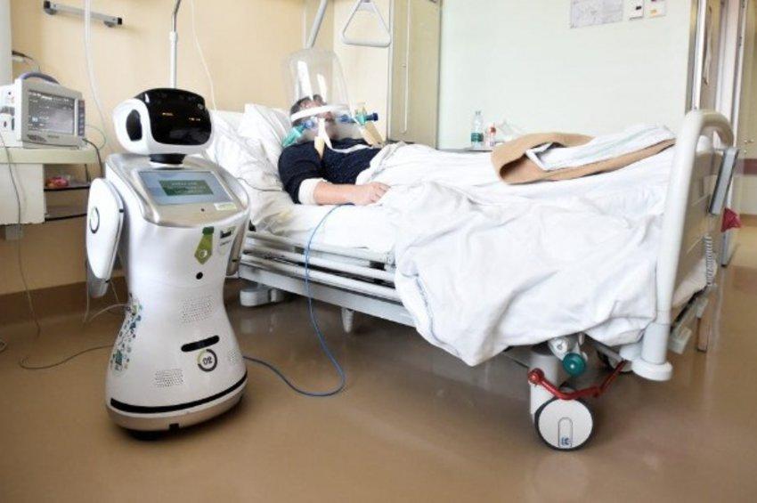 Ρομπότ στη «μάχη» κατά του κορωνοϊού - Ο «Τόμι» και η παρέα του σε νοσοκομείο της Λομβαρδίας