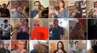 Μένουμε σπίτι: Βίντεο από τη Φιλαρμονική Ορχήστρα του Δήμου Αθηναίων