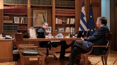Κορωνοϊός: Συνάντηση Μητσοτάκη με Τσιόδρα - Συζητούν τα επόμενα βήματα