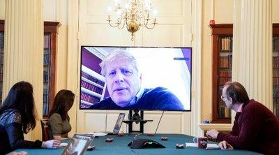 Βρετανία: Ο Τζόνσον απευθύνει κάλεσμα στην αντιπολίτευση για συνεργασία στην κρίση του κορωνοϊού