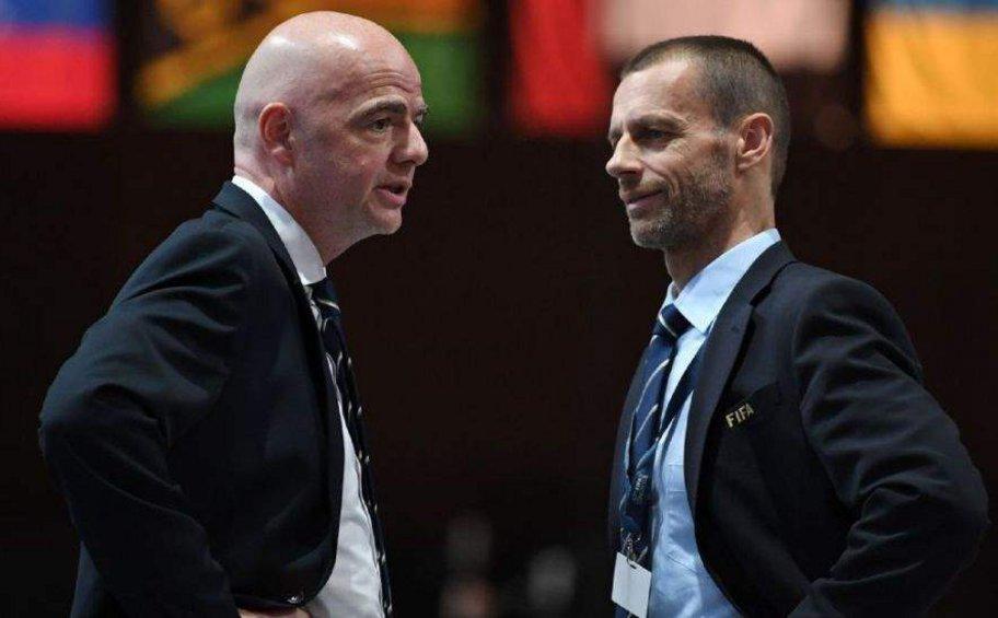 «Επίθεση» του προέδρου της UEFA στη FIFA: «Πού πάνε τα χρήματα της οικονομικής βοήθειας για τον κορωνοϊό;»