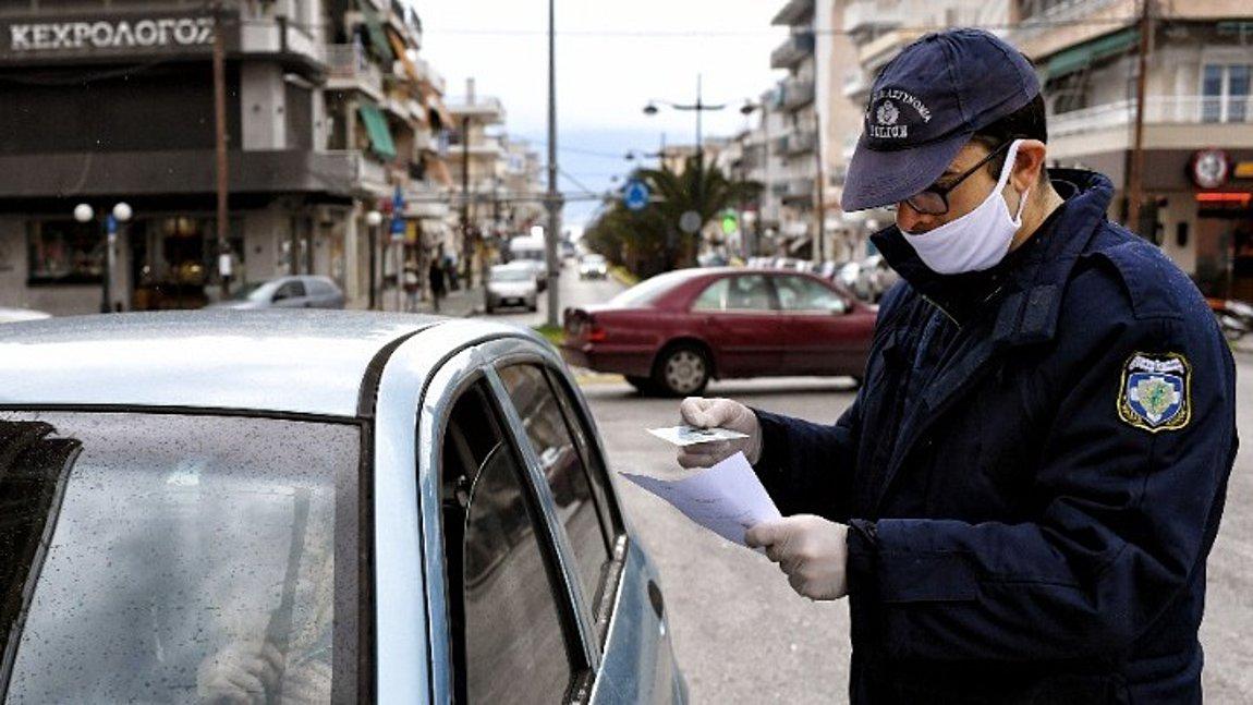 Κορωνοϊός: 1.610 παραβάσεις για άσκοπες μετακινήσεις - 5 συλλήψεις για λειτουργία καταστημάτων