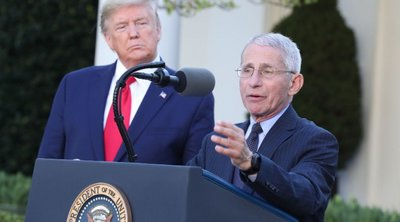 Τραμπ: Ο Φάουτσι είναι καταστροφή - Εάν τον άκουγα, θα είχαμε 500.000 θανάτους