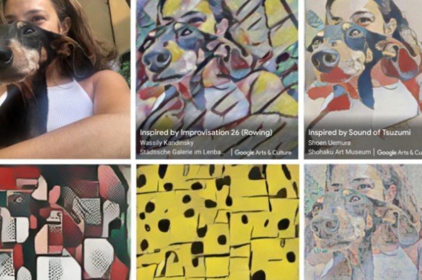 «Art Transfer»: Επιστρώστε με ένα έργο τέχνης τις φωτογραφίες σας με το κινητό