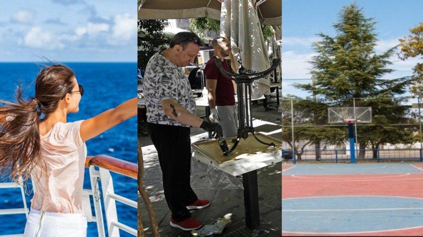 Γεμάτα τα πλοία για τα νησιά τη Δευτέρα - Ανοίγουν εστίαση, γυμναστήρια, αθλητικές εγκαταστάσεις