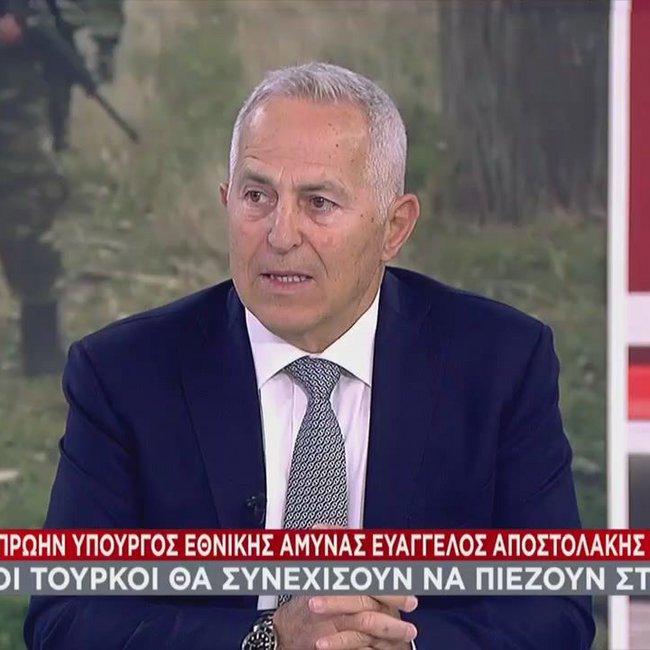 Αποστολάκης: Επιμένω στην ισοπέδωση βραχονησίδας αν ανέβουν πάνω Τούρκοι - Βίντεο